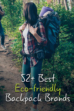 Eco friendly backpacks