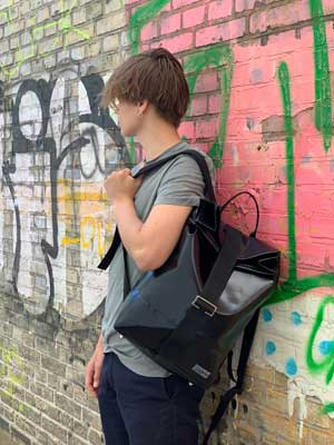grunbag eco friendly backpack