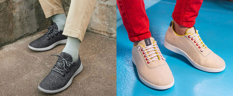 Comparing Baabuk vs. Allbirds Merino Shoes