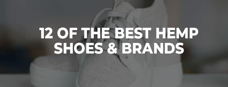 hemp shoe brands